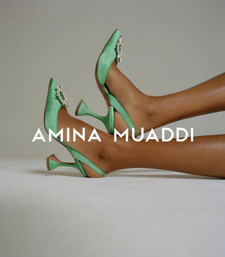 Amina Muaddi : la créatrice de chaussures la plus en vogue du moment