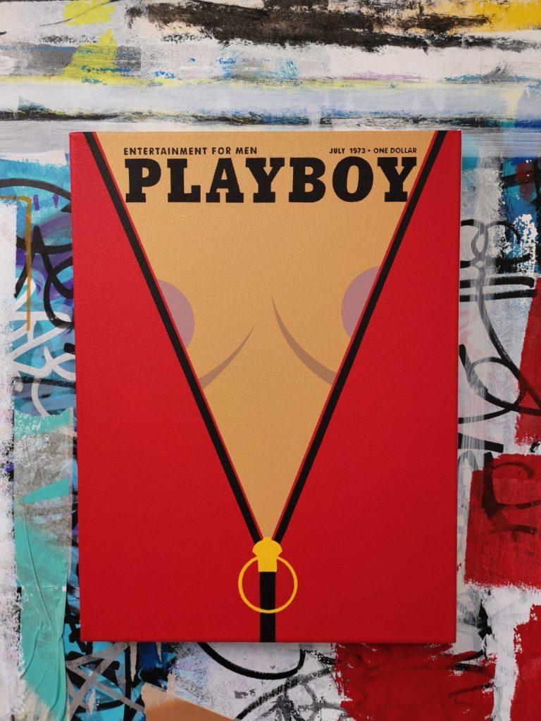 Visitez l'exposition «Grow Up» inspirée de Playboy par Fenx chez Cohle Gallery