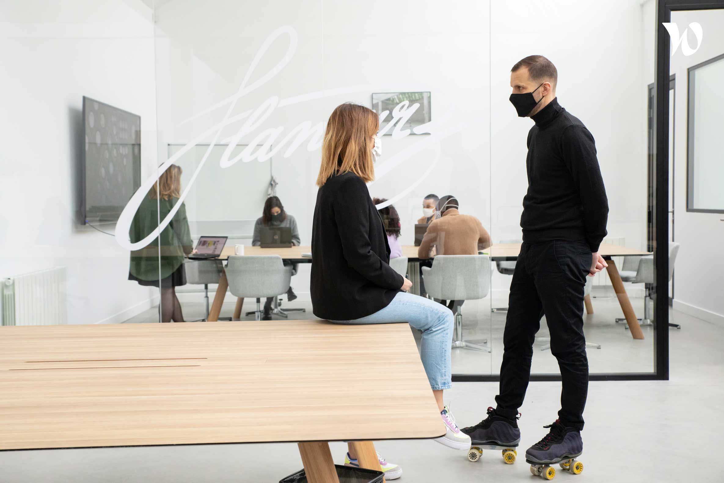 L'art de slide dans Paris avec Flaneurz